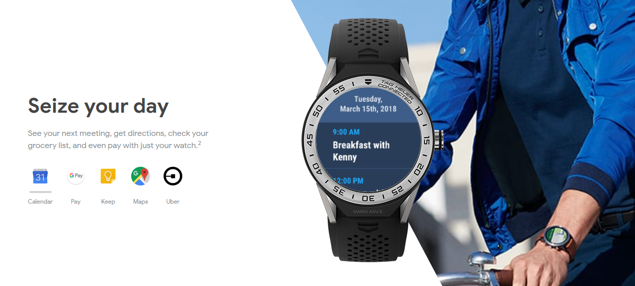 Wear OS by Google: Health and help are just a easy away