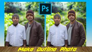 Make Outline Photo