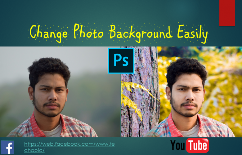 PS Background Change Photo Editing 2020